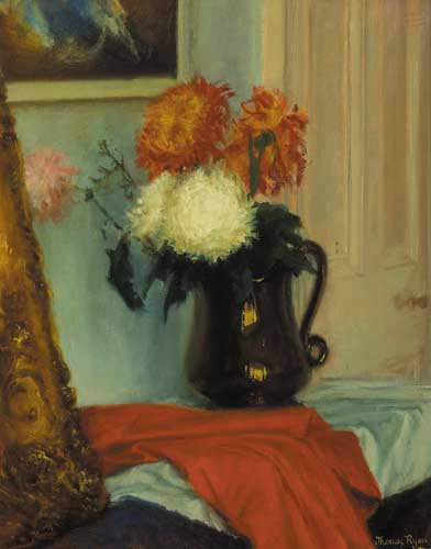 FLOWERS WITH MY LUSTRE JUG, 1962 by Thomas Ryan PPRHA (b.1929) PPRHA (b.1929) at Whyte's Auctions
