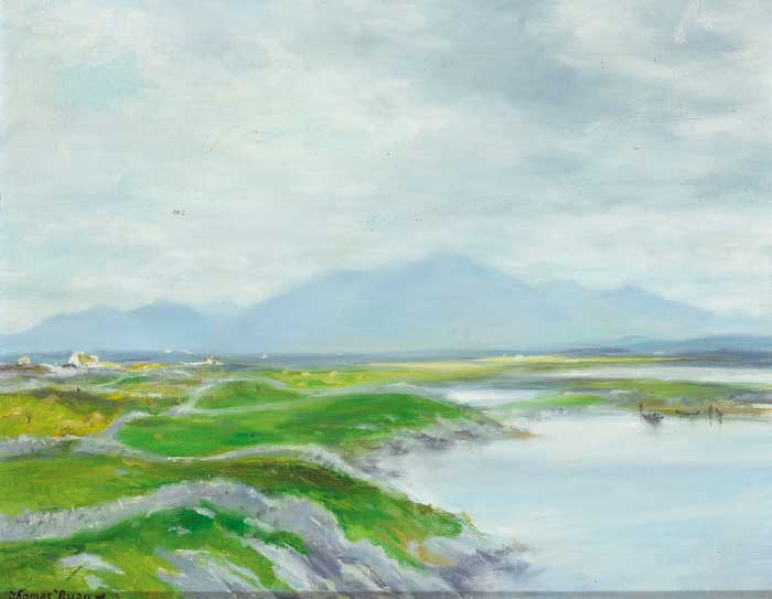 CONNEMARA LANDSCAPE by Thomas Ryan PPRHA (b.1929) PPRHA (b.1929) at Whyte's Auctions