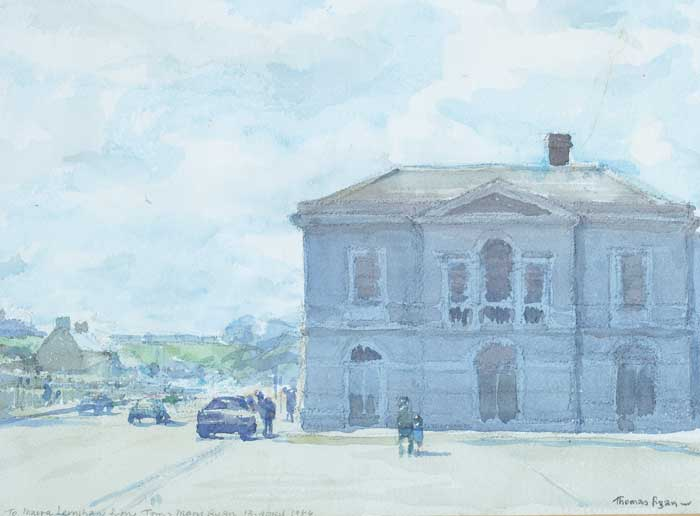MAYORALTY HOUSE, NORTH QUAY, DROGHEDA, 1984 by Thomas Ryan PPRHA (b.1929) at Whyte's Auctions