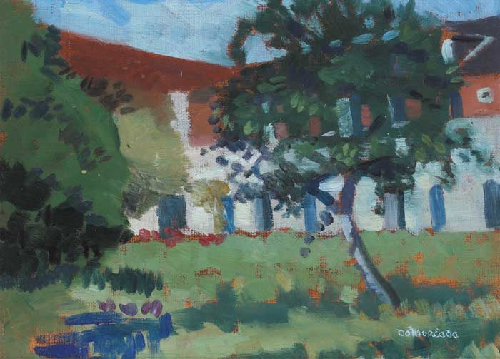 ORCHARD, LES BRETONS, circa 1984 by Domhnall � Murchadha RHA (1914-1991) at Whyte's Auctions