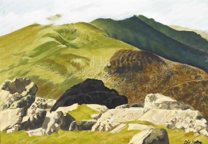MT BRANDON FROM CONOR PASS, COUNTY KERRY by Eric Patton RHA (1925-2004) at Whyte's Auctions