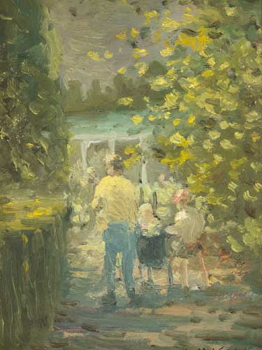 THE BOTANIC GARDENS by William Mason (1906-2002) (1906-2002) at Whyte's Auctions