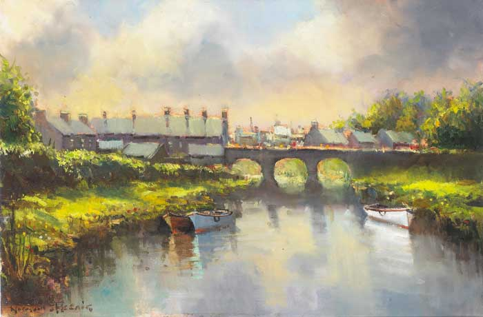 BUSHMILLS BRIDGE, COUNTY ANTRIM by Norman J. McCaig (1929-2001) at Whyte's Auctions