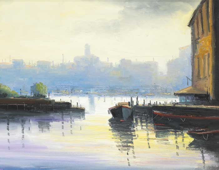 CASTELLO, VENICE by Norman J. McCaig (1929-2001) at Whyte's Auctions