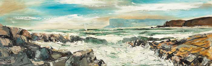 FAIR HEAD, COUNTY ANTRIM by Norman J. McCaig (1929-2001) at Whyte's Auctions