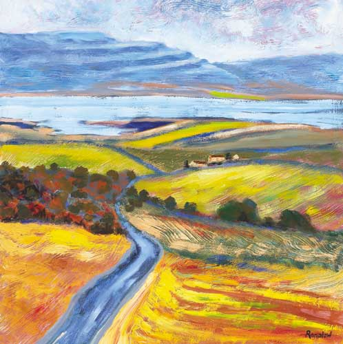 ROAD TO KINVARA by Brian Ranalow (b.1947) at Whyte's Auctions