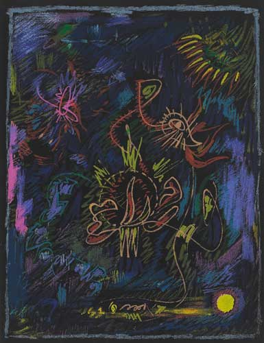 SURREALIST COMPOSITION, circa 1970 by André Masson (French 1896-1987) (French 1896-1987) at Whyte's Auctions