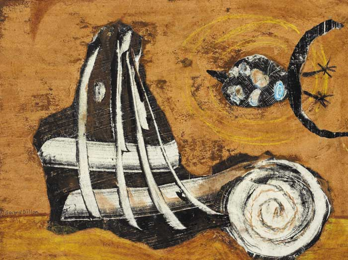 ABSTRACT WITH BIRD by Gerard Dillon (1916-1971) at Whyte's Auctions