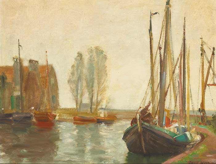 VOLENDAM, 1963 by Ernest Columba Hayes RHA (1914-1978) RHA (1914-1978) at Whyte's Auctions