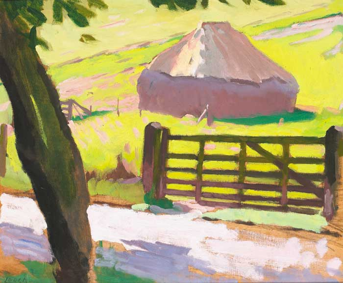 HAYSTACK by William John Leech sold for �21,000 at Whyte's Auctions