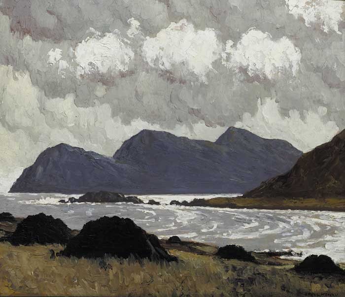 ACHILL HEAD, circa 1929 by Paul Henry sold for �90,000 at Whyte's Auctions