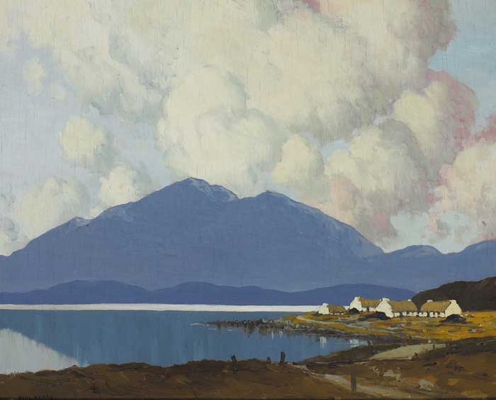 EVENING IN CONNEMARA by Paul Henry sold for �90,000 at Whyte's Auctions