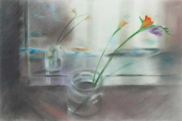REFLECTIONS by Sophie Aghajanian sold for �850 at Whyte's Auctions