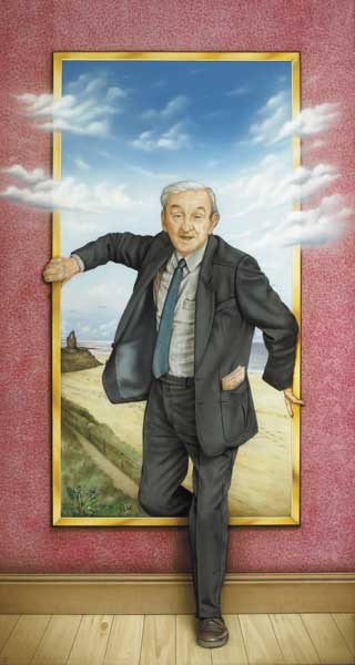JOHN B. KEANE (1993) by Robert Ballagh sold for �36,000 at Whyte's Auctions