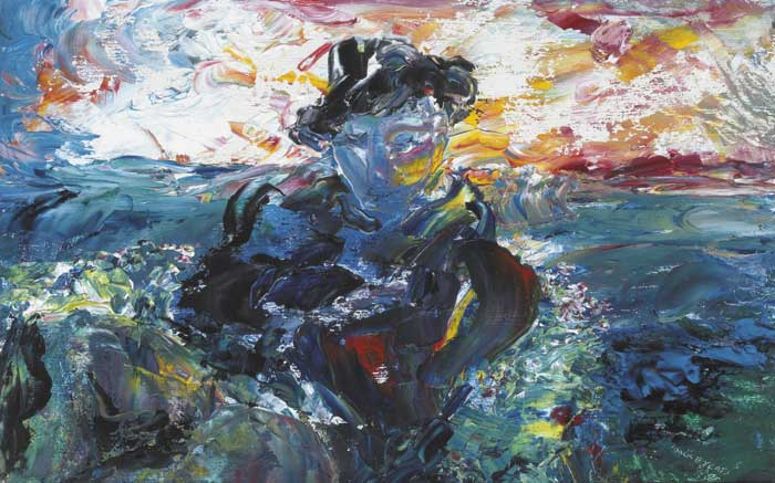SEEK NO FURTHER II, 1947 by Jack Butler Yeats sold for �88,000 at Whyte's Auctions
