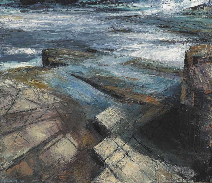 POOLS AND SHADOWS, 2006 by Donald Teskey sold for �27,000 at Whyte's Auctions