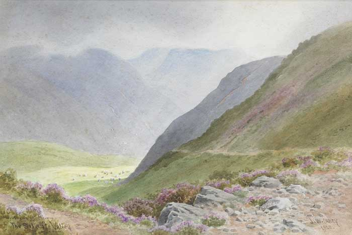 MOUNTAINS OF MOURNE, THE SILENT VALLEY, COUNTY DOWN, 1928 by