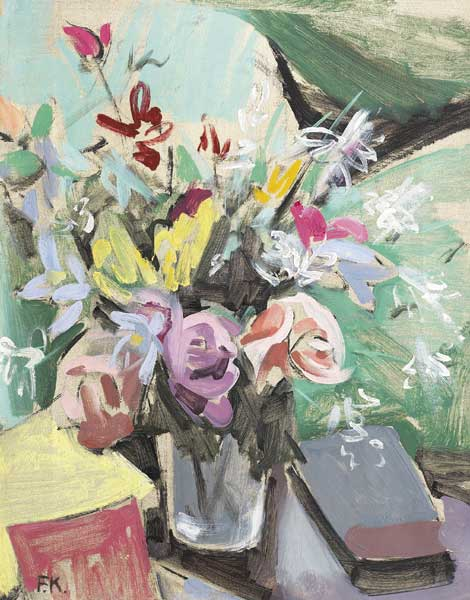FLOWER PIECE by Frances J. Kelly sold for �3,600 at Whyte's Auctions