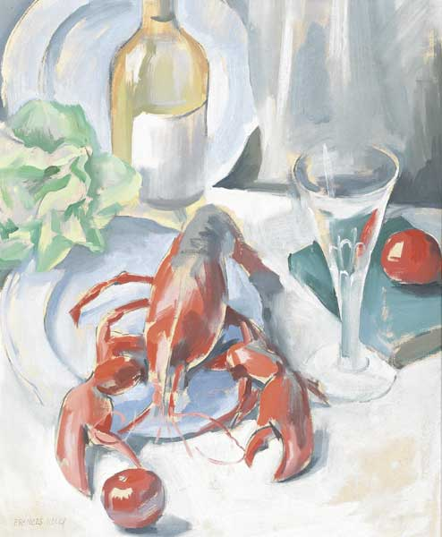 STILL LIFE WITH LOBSTER by Frances J. Kelly sold for �4,400 at Whyte's Auctions