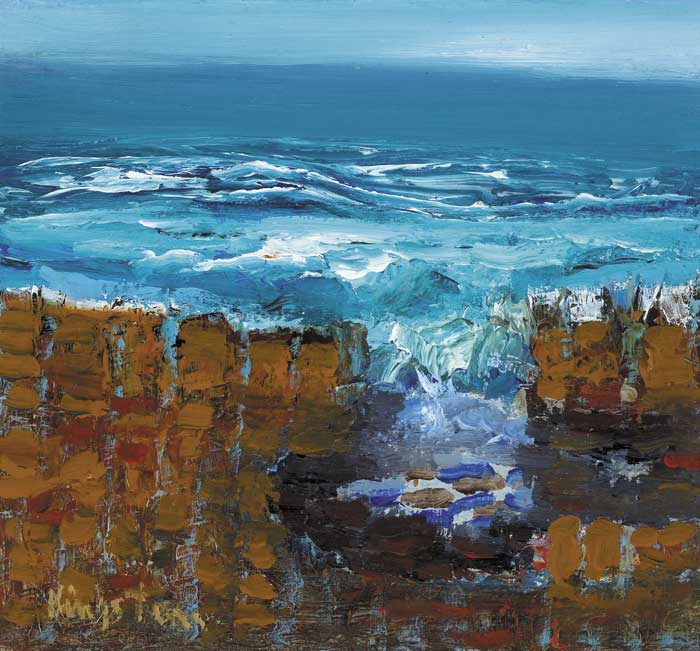 CAUSEWAY NO. 101 by Richard Kingston sold for �3,200 at Whyte's Auctions