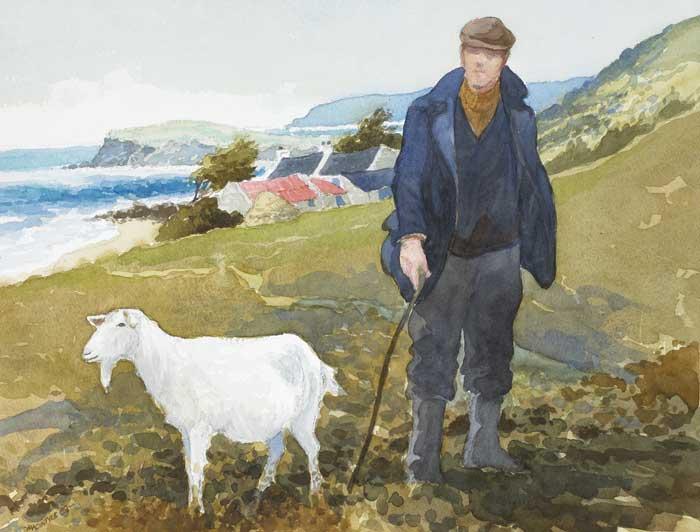 Kết quả hình ảnh cho goat, people painting