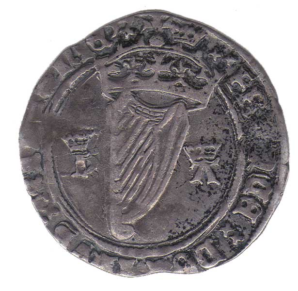 1534-5 Anne Boleyn as Queen - an Irish silver groat coin at Whyte's Auctions