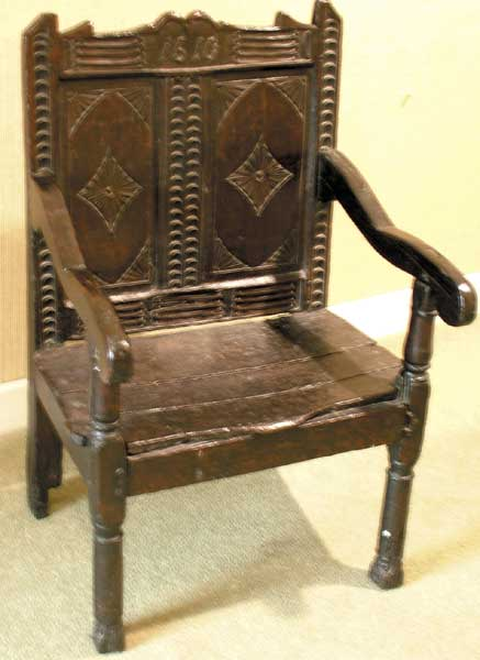 "1610. A ""Planter's Chair"" at Whyte's Auctions"