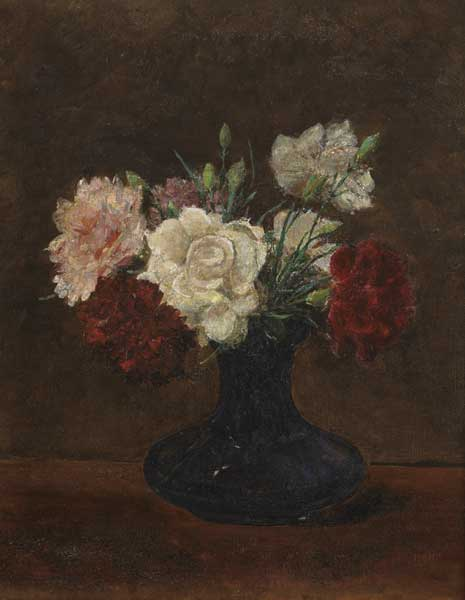 CARNATIONS, 1909 by Hans Iten sold for �2,850 at Whyte's Auctions