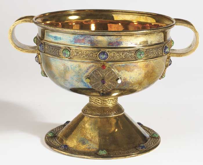 Ardagh Chalice - a silver replica by Goldsmiths and Silversmiths Company, London at Whyte's Auctions