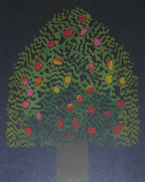 CHRISTMAS GREETING CARD, 2007 by Patrick Scott HRHA (b.1921) at Whyte's Auctions