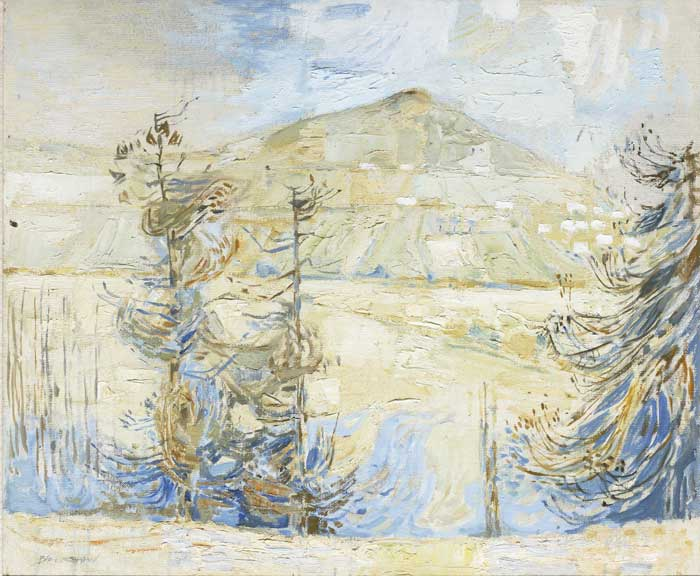 WHITE MOUNTAIN by Basil Blackshaw sold for �8,500 at Whyte's Auctions