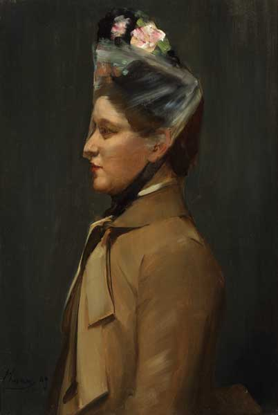 MISS KATE GENTLES, 1889 by Sir John Lavery sold for �21,000 at Whyte's Auctions