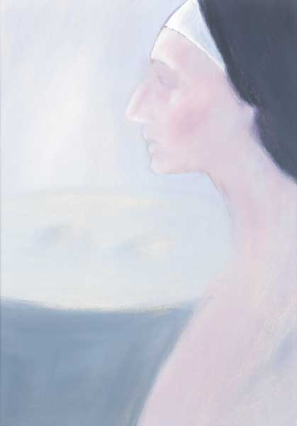 PROFILE OF A WOMAN by John Kelly sold for �400 at Whyte's Auctions
