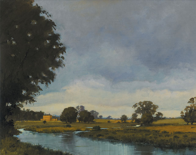 THE BLACKWATER AT KELLS, 1990 by Padraig Lynch (b.1936) at Whyte's Auctions