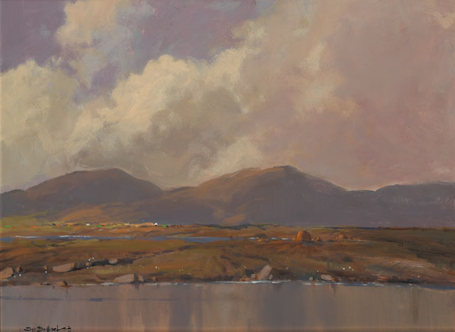 MAAM VALLEY, COUNTY GALWAY by George K. Gillespie RUA (1924-1995) at Whyte's Auctions