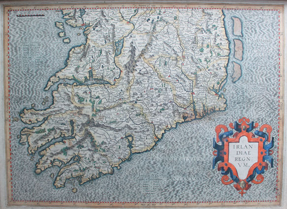 circa 1600: Mercator's Map of Munster at Whyte's Auctions