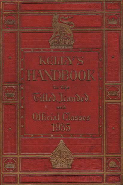 1883-1935: Peerage Directories including Burke's 1883 at Whyte's Auctions