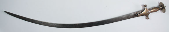 19th Century: Indo-Persian sword shamsir at Whyte's Auctions