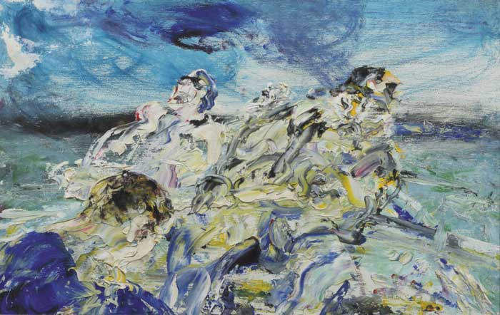 RESCUE MEN, 1949 by Jack Butler Yeats RHA (1871-1957) RHA (1871-1957) at Whyte's Auctions
