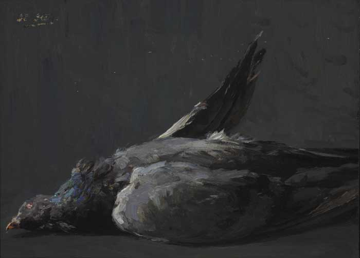 STUDY OF A DEAD GAME BIRD by Hans Iten sold for �450 at Whyte's Auctions