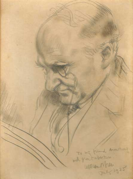 SIR WILLIAM ARMSTRONG READING, 1925 by Sir William Orpen RA RI RHA (1878-1931) at Whyte's Auctions