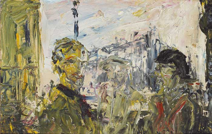 THE STREET IN SHADOW, 1932 by Jack Butler Yeats RHA (1871-1957) at Whyte's Auctions