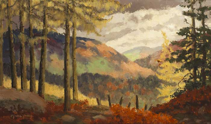 WICKLOW SCENE by Mabel Young RHA (1889-1974) at Whyte's Auctions