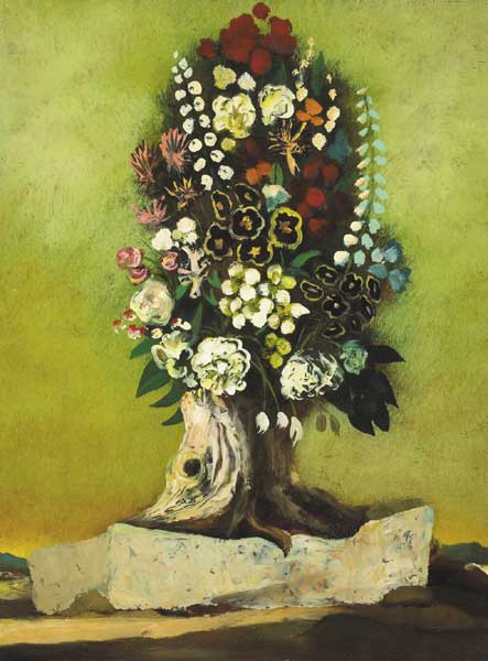 FLOWER TREE by Daniel O'Neill (1920-1974) (1920-1974) at Whyte's Auctions
