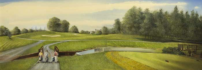 DRUIDS GLEN (FIVE GOLFING SCENES) at Whyte's Auctions