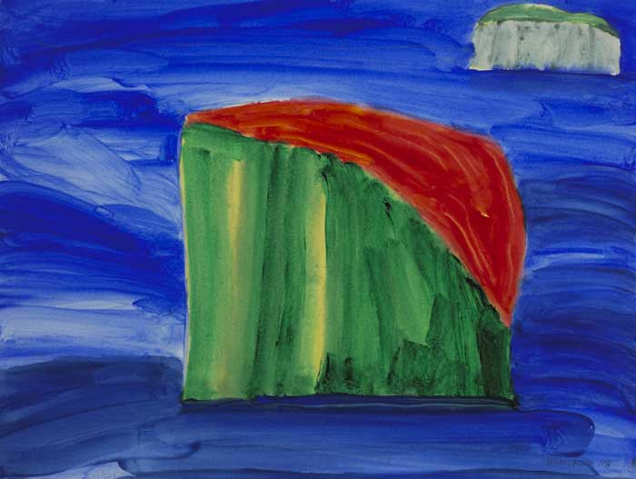THE ISLAND, 1994 by William Crozier HRHA (1930-2011) at Whyte's Auctions