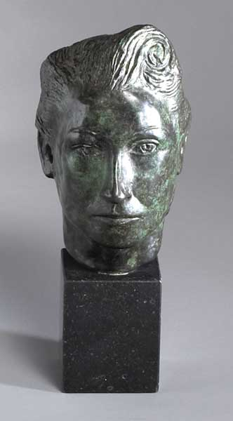 HEAD OF MOLLY, THE ARTIST'S SISTER by Gerard Dillon (1916-1971) at Whyte's Auctions
