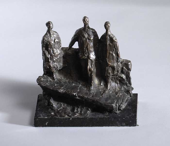 FIGURATIVE GROUP by Melanie le Brocquy HRHA (b.1919) HRHA (b.1919) at Whyte's Auctions
