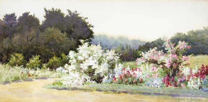 KILMURRY GARDEN by Mildred Anne Butler RWS (1858-1941) RWS (1858-1941) at Whyte's Auctions