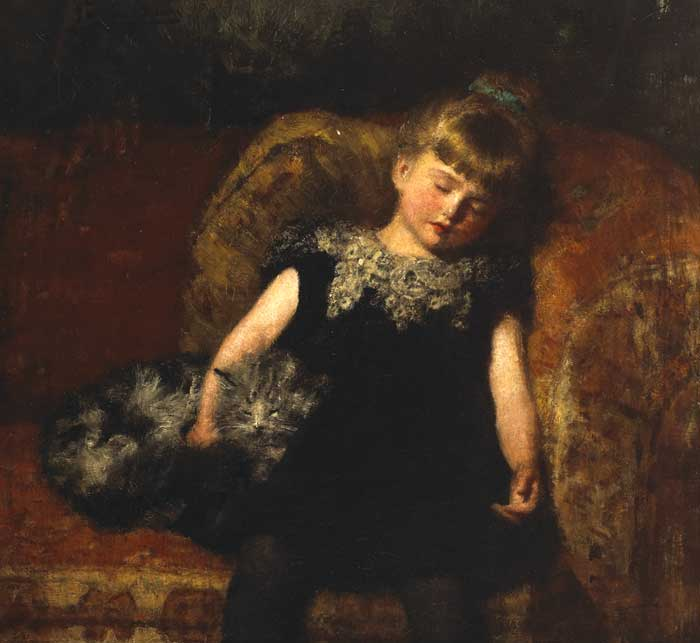 TIRED OUT by John Ernest Breun (1862-1921) at Whyte's Auctions
